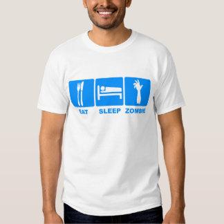 Eat Sleep Zombie Tee Shirts