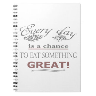 Eat Something Great Notebooks
