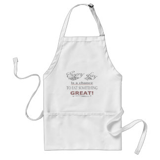 Eat Something Great Standard Apron