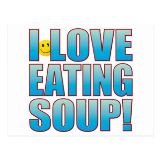 Eat Soup Life B Postcard