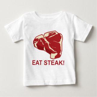 Eat STeak Baby T-Shirt