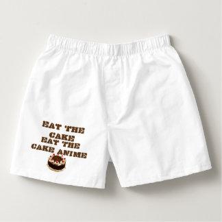 Eat The Cake Anime, Men's Cotton Boxers