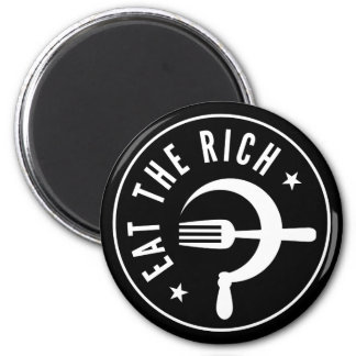 Eat the Rich Hammer & Sickle Magnet