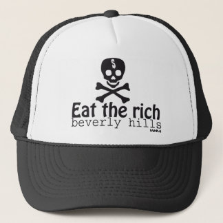 EAT THE RICH TRUCKER HAT
