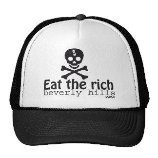 EAT THE RICH TRUCKER HAT