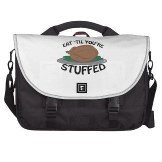 Eat Til Stuffed Commuter Bag