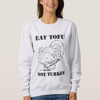 Eat Tofu not Turkey Vegan Xmas Christmas Sweater