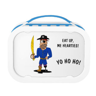 Eat up, me hearties! Pirate Lunch Box
