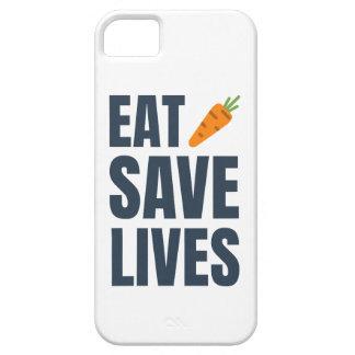 Eat Vegan - Save Lives iPhone 5 Case