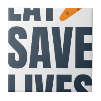 Eat Vegan - Save Lives Tile