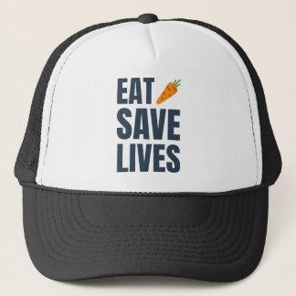 Eat Vegan - Save Lives Trucker Hat