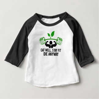 eat well graphic design baby T-Shirt