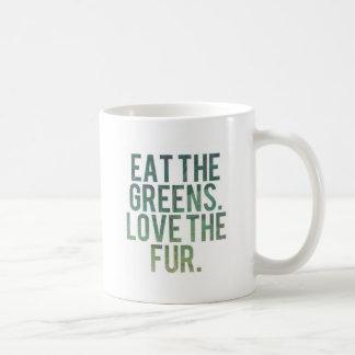 Eat Yo Greens! Classic White Coffee Mug