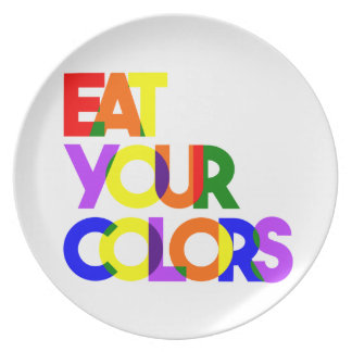 Eat Your Colors Bold Plate