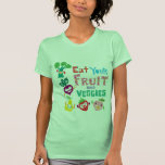 Eat your fruit and Veggies - beige
