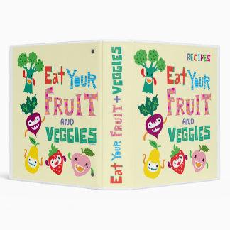 Eat Your Fruit & Veggies recipe binder