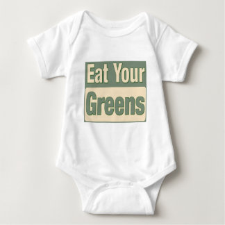 Eat Your Greens Baby Bodysuit