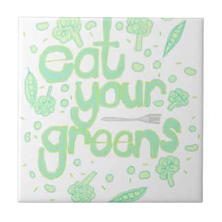 eat your greens tile
