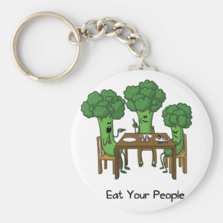 Eat Your People Keychain