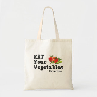 Eat Your Vegetables - Farmer Mom Tote