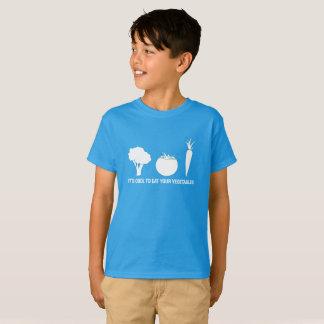 Eat Your Vegetables Kids T-Shirt