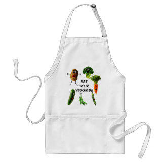 Eat Your Vegetables Standard Apron