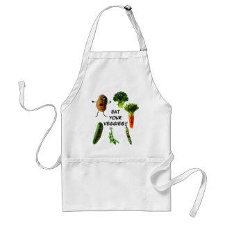 Eat Your Vegetables Standard Apron
