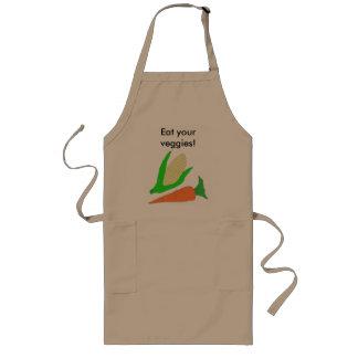 """Eat your veggies"" apron"