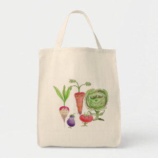 Eat Your Veggies before they eat you Tote Bag