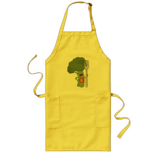 Eat your veggies! long apron