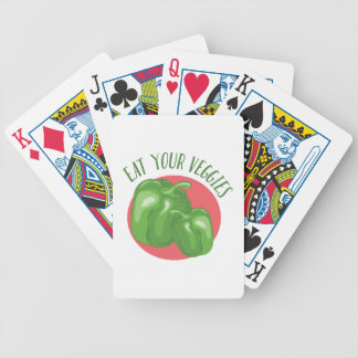Eat Your Veggies Poker Deck