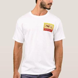 EatAnimals.com Autumn Logo Henley T-Shirt