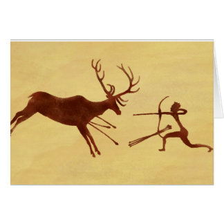 EatAnimals.com Cave Painting Card