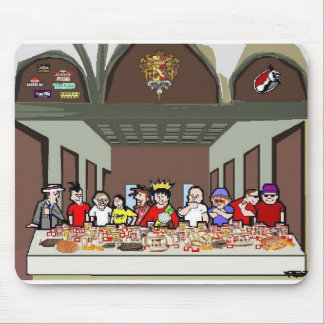Eaters Last Supper Mouse Pad