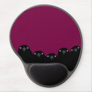 Eating Crow Gel Mouse Pad