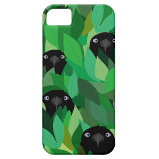 Eating Crow iPhone SE + iPhone 5/5S, Barely There Case For The iPhone 5