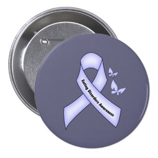 Eating Disorders Awareness 3 Inch Round Button