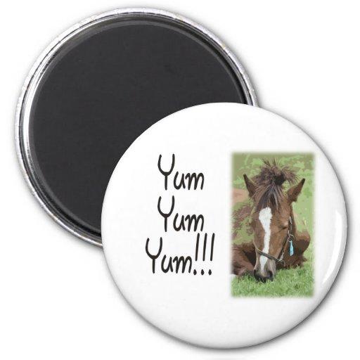 Eating Foal - Yum Yum Yum Magnets