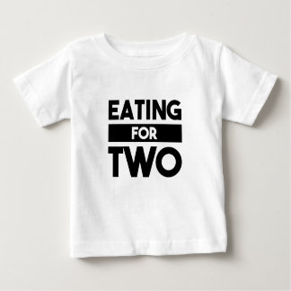 Eating for Two Baby T-Shirt