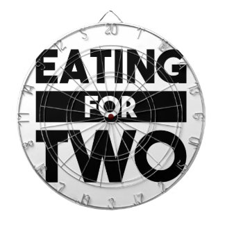 Eating for Two Dartboard