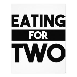 Eating for Two Letterhead