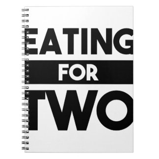 Eating for Two Notebooks