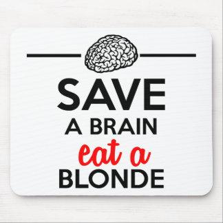 Eating monkey & bananas - Save a monkey Mousepads