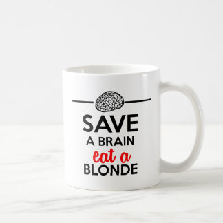 Eating monkey & bananas - Save a monkey Coffee Mugs