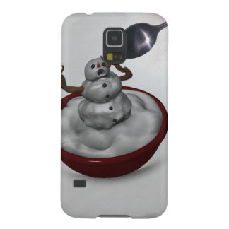 Eating Snowman Galaxy S5 Covers