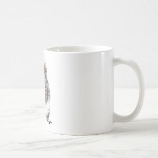 Eating Squirrel Basic White Mug
