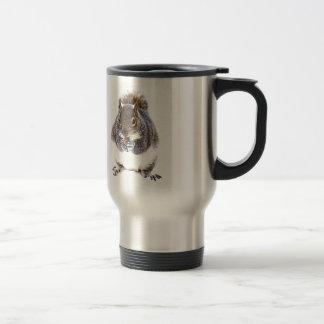 Eating Squirrel Stainless Steel Travel Mug