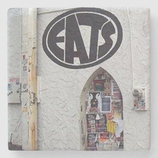 Eats, Poncey Highland Atlanta Marble Stone Coaster