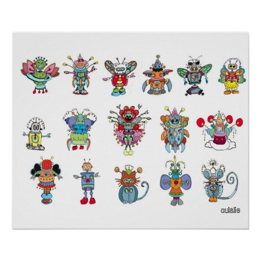 Eaux Bots Poster