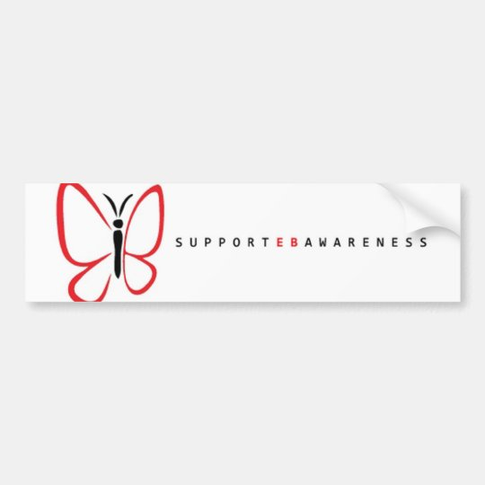 eb awareness white bumper sticker